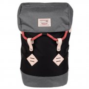 Doughnut Rucksack Colorado - black grey