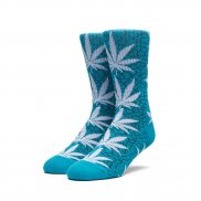 HUF Crew Socks Quake Plantlife - tropical green