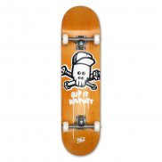 MOB Skateboards Complete Skull yellow - 8.125
