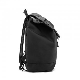 Lefrik Rucksack Flap Small - black