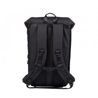 Doughnut Colorado Accents Series Backpack - black x red
