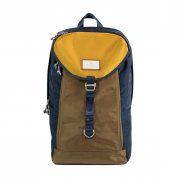 Doughnut Morris Glossy Series Backpack - navy x khaki