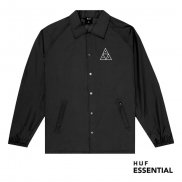 HUF Essentials TT Coaches Jacket black