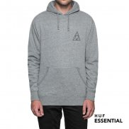 HUF Essentials TT Hoodie athletic heather M