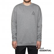 HUF Essentials TT Pullover grey heather