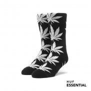 HUF Essentials Plantlife Socken black