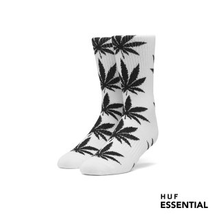 HUF Essentials Plantlife Socken white