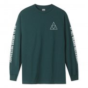 HUF Essentials Tt L/S Tee sycamore