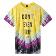 HUF Dont Even Trip T-Shirt yellow L