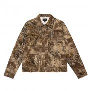 HUF Lincoln Trucker Jacke realtree max