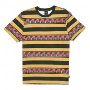 HUF Monarch Stripe T-Shirt camel