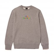 HUF Woz Pullover grey heather