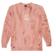 HUF Elias Pullover plastic pink