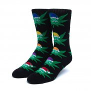HUF Green Helpers Socks black