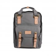 Doughnut Macaroon Reborn Series Backpack grey