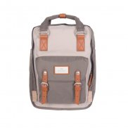 Doughnut Macaroon Rucksack - ivory light grey